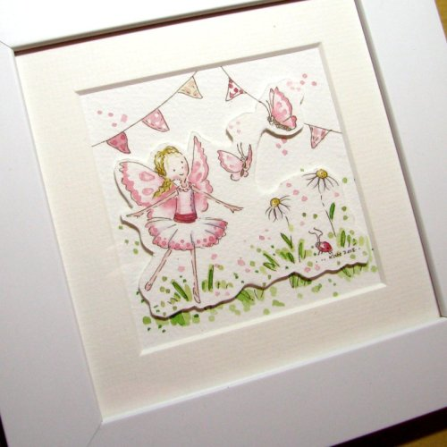 <!-- 020 -->Decoupage Mini Fairy watercolour