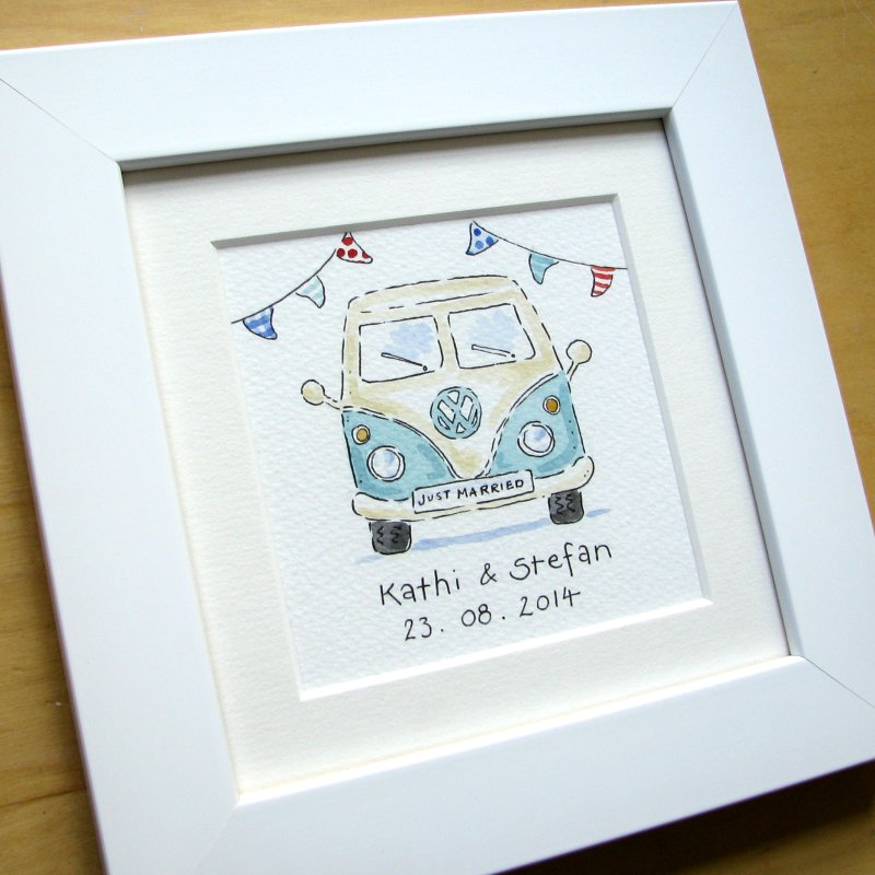 <!-- 030 -->Mini Camper Van watercolour