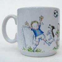 Football boys mug