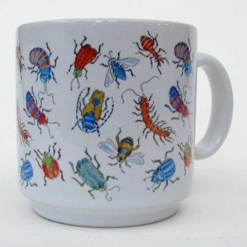 Bright bugs mug