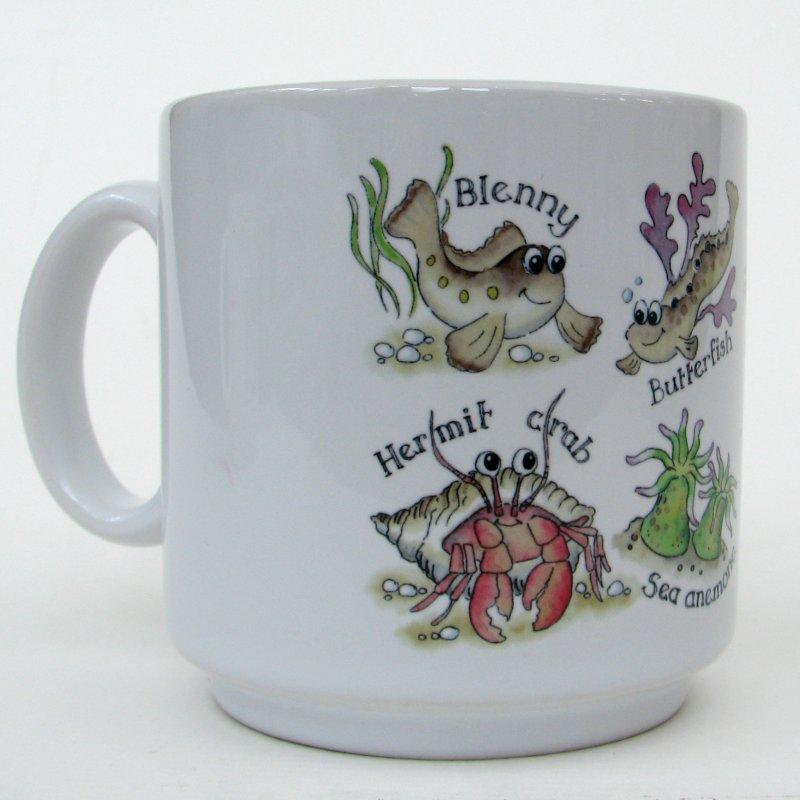 Rockpooling mug