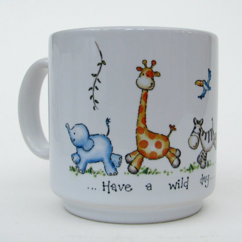 Jungle animals mug