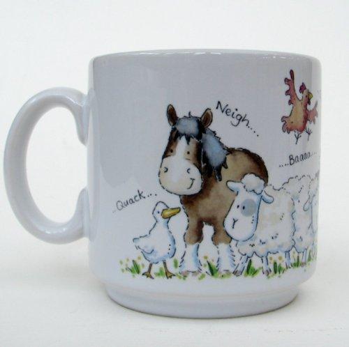 Farm animals mug