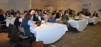 Teams working on their Spring Barley plans at Cereals Challenge launch 2...