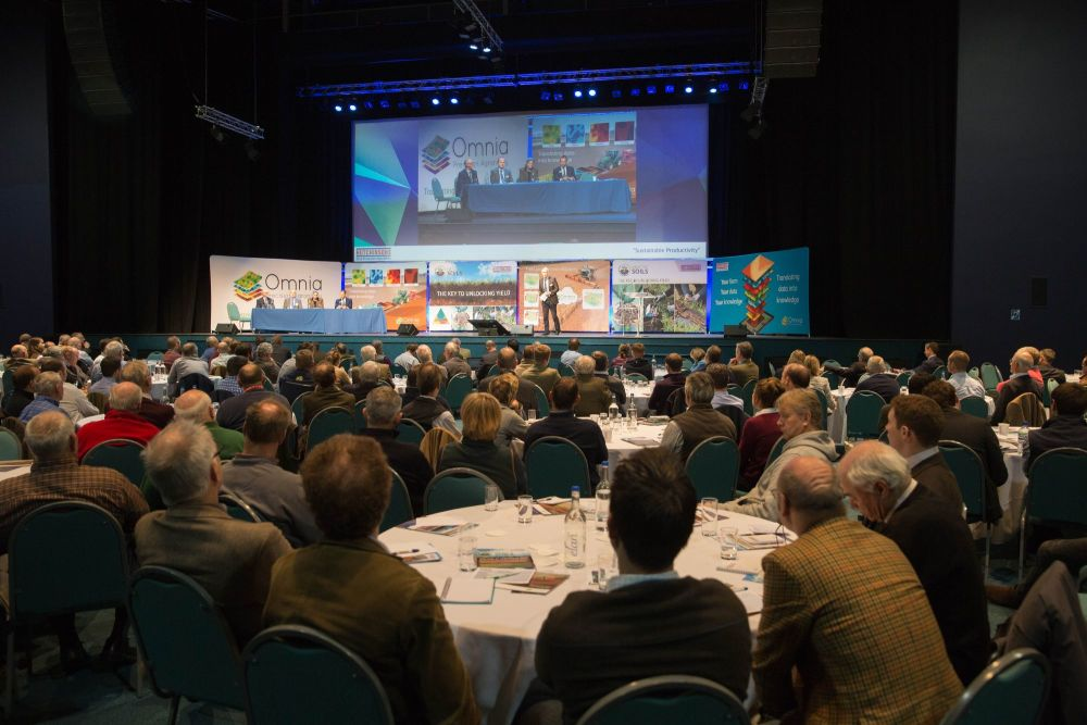 A focus on sustainability of farm businesses was the theme of the Hutchinso