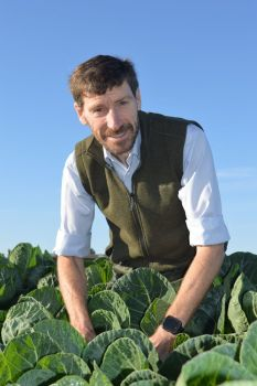 Andy Richardson of the Allium & Brassica Centre