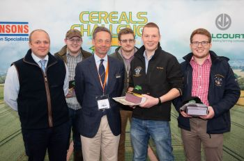 Harper Adams - Cereals Challenge Winners