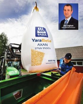Fertiliser discussion with Ian Lingham