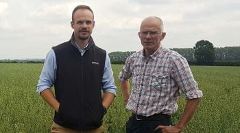 Ed Brown and Tony Reilly Farmers Weekly