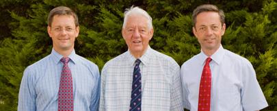 Mike, Colin and David Hutchinson