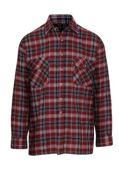 Check Long Sleeve Shirt, 100% Cotton, from Champion