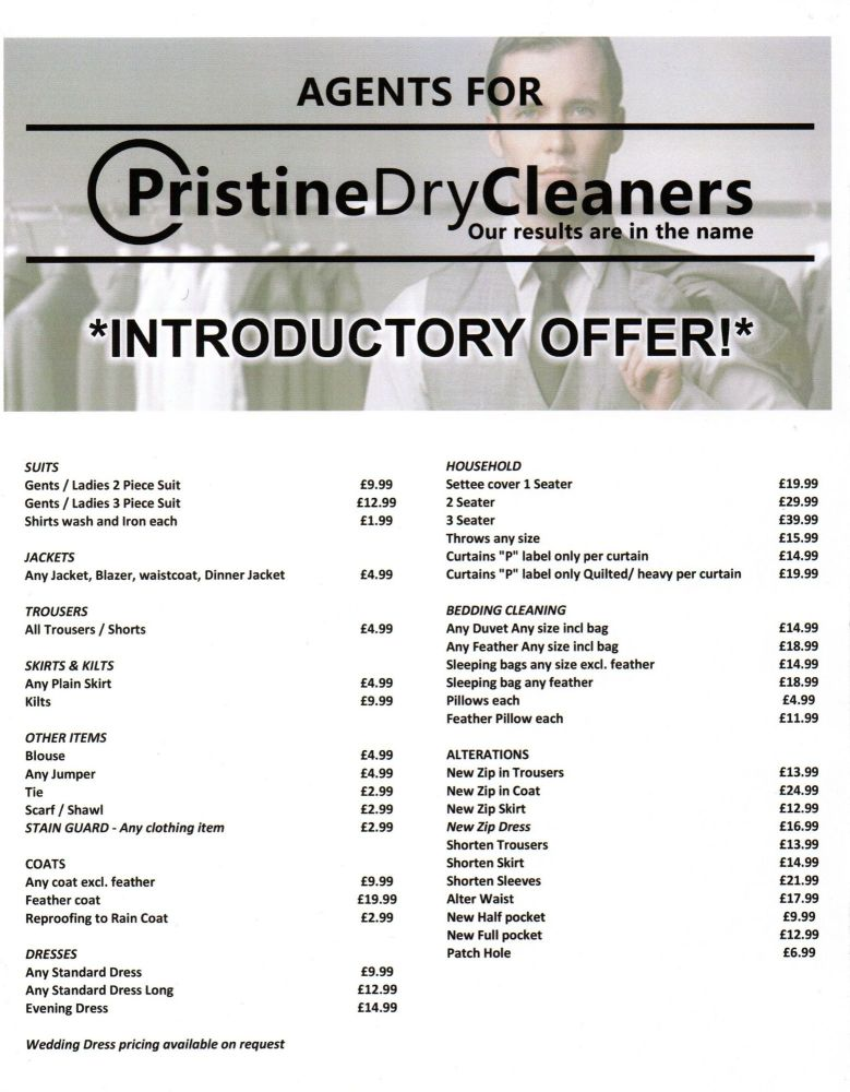 DryCleanPrices