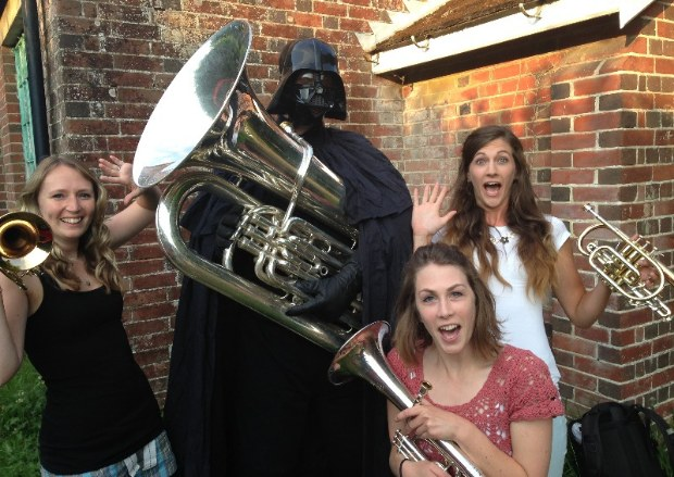 darth and girls