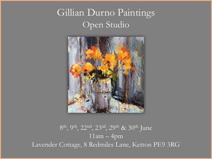 Open studio flier
