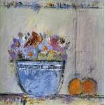 Autumn Bowl - 40 x49 cms - Acrylic on Board
