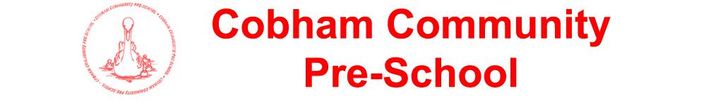 Cobham Community Pre-School, site logo.