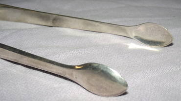 Georgian Silver Sugar Tongs London 1809 (4)