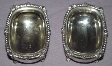 Pair of Silver Salts London 1919 (2)