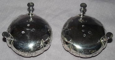 Pair of Silver Salts George II London 1748 (5)