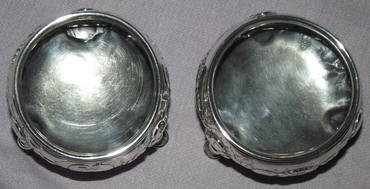 Pair of Silver Salts George II London 1748 (9)