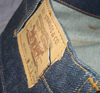 Vintage Orange Tab Levi Jeans Flares (3)