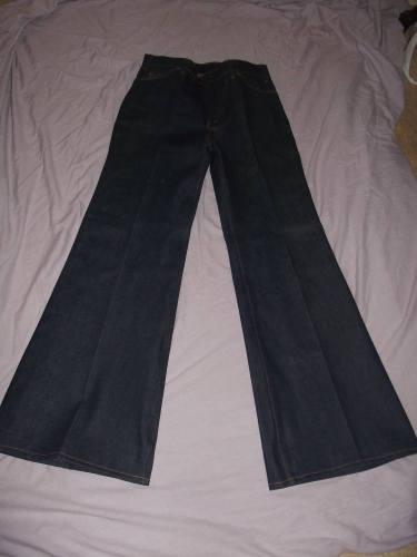 Vintage Orange Tab Levi Jeans Flares (4)