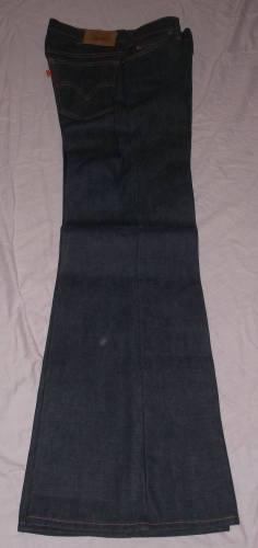 Vintage Orange Tab Levi Jeans Flares (5)