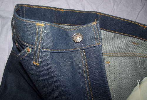 Vintage Orange Tab Levi Jeans Flares (6)