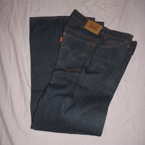 Vintage Orange Tab Levi Jeans Flares.522-0217. W32 L 32. 70s. New !!!