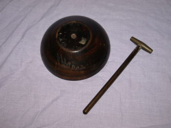 Wooden Nutcracker Wooden Bowl And Mallet (3)