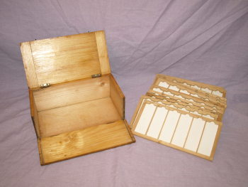 Vintage Microscope Slide Box (3)