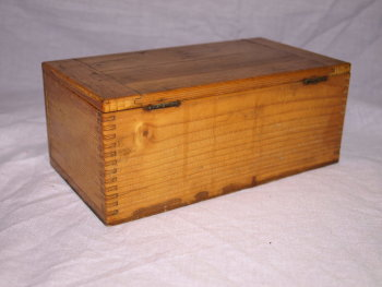 Vintage Microscope Slide Box (4)