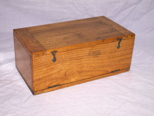 Vintage Microscope Slide Box.