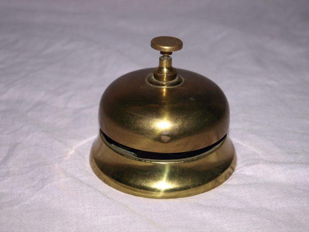 Brass Reception Shop Counter Bell.