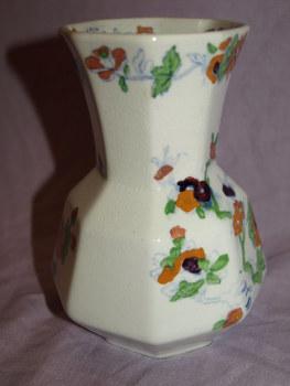 Early Masons Ironstone Vase (2)