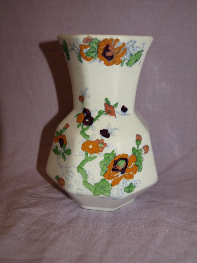 Early Masons Ironstone Vase.