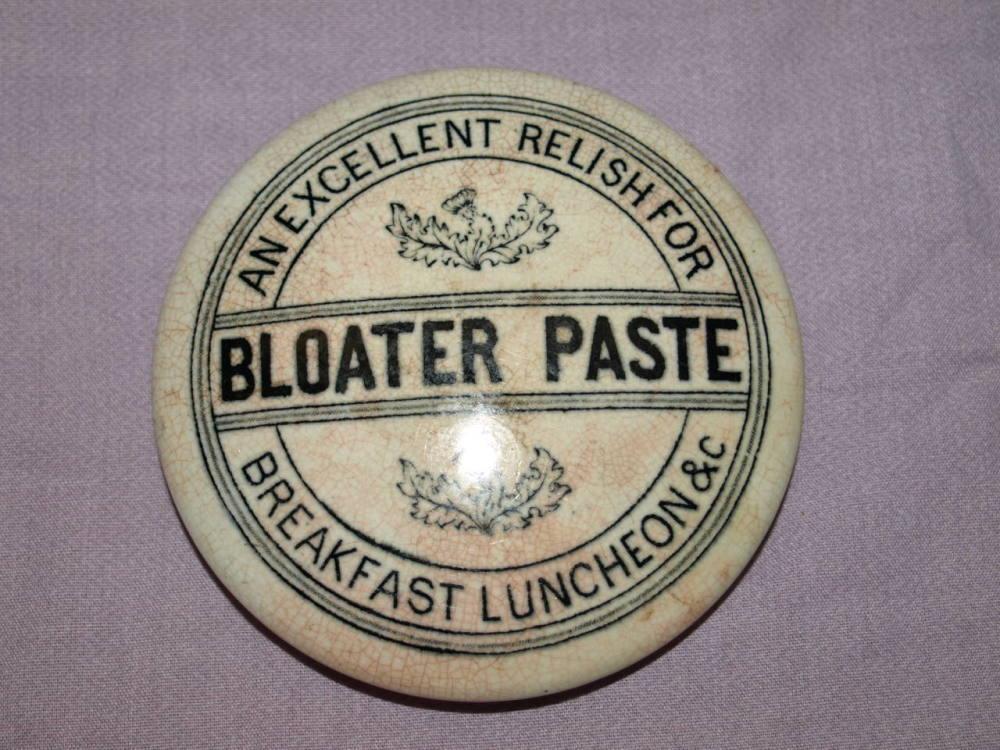 Bloater Paste Victorian Pot Lid.