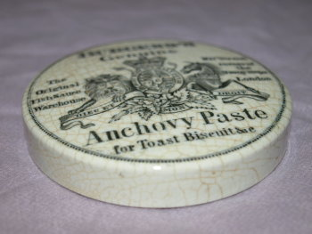 Burgess Anchovy Paste Pot Lid (2)