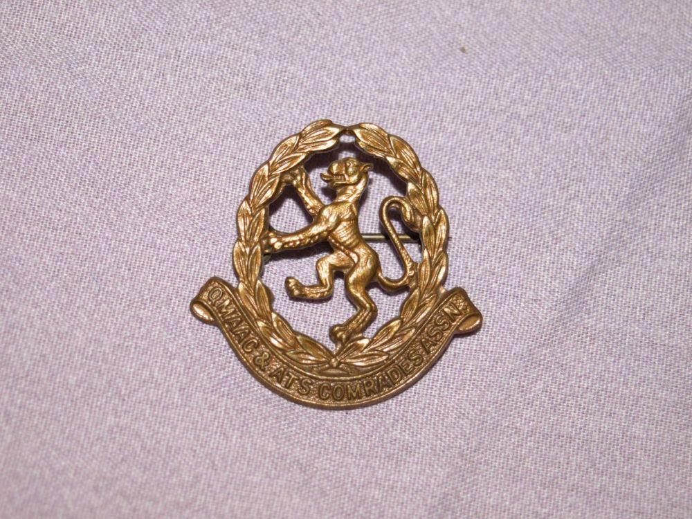 QMAAC & ATS Comrades Association Badge.