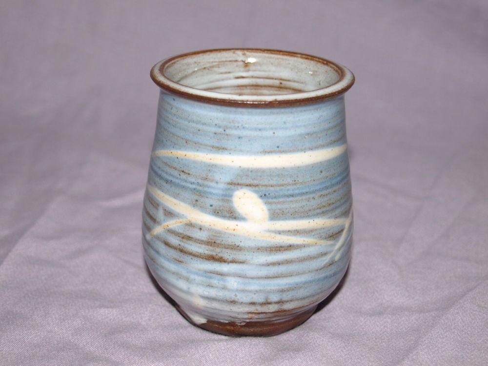 Buckfast Abbey Studio Pottery Vase.