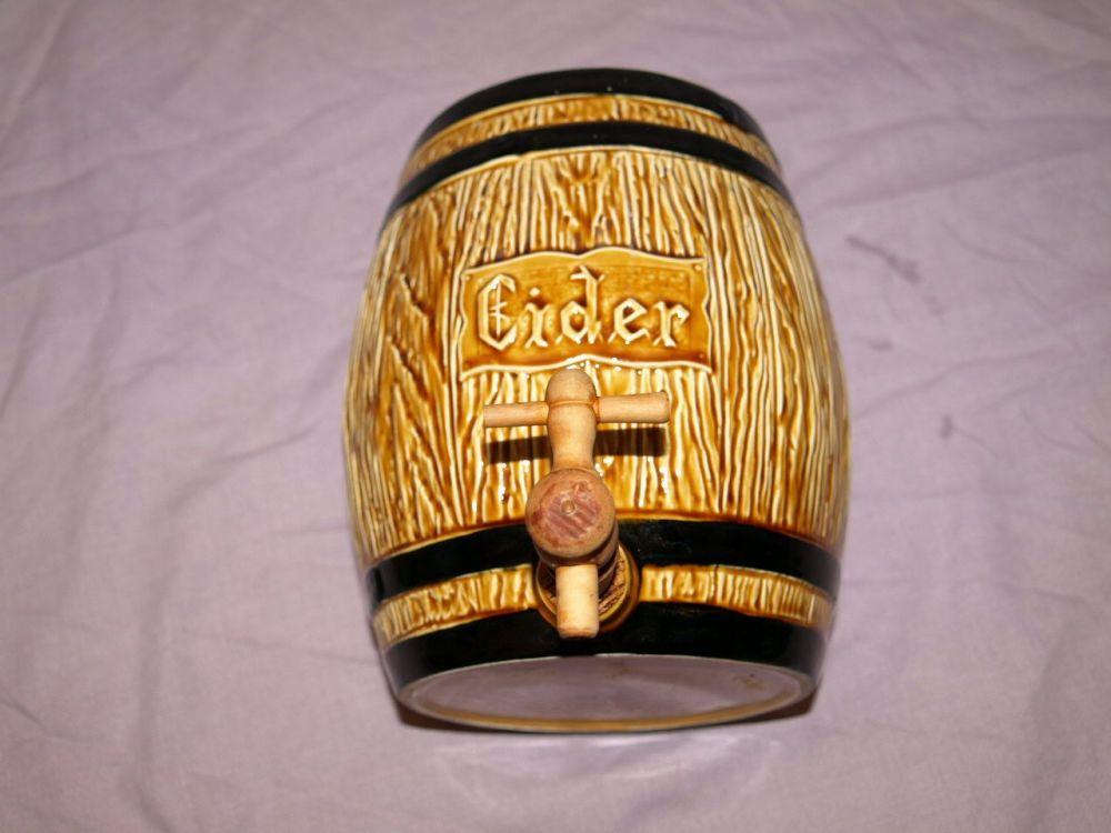 Crown Devon Ceramic Cider Barrel.