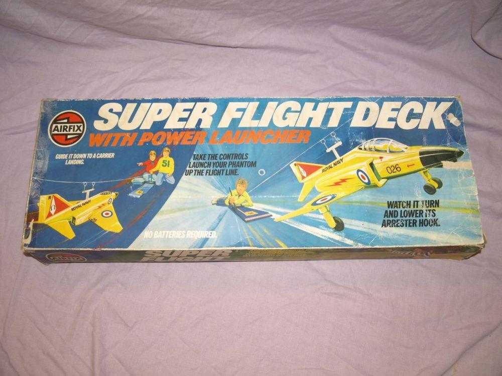 Airfix Super Flight Deck Vintage Toy 1970s.