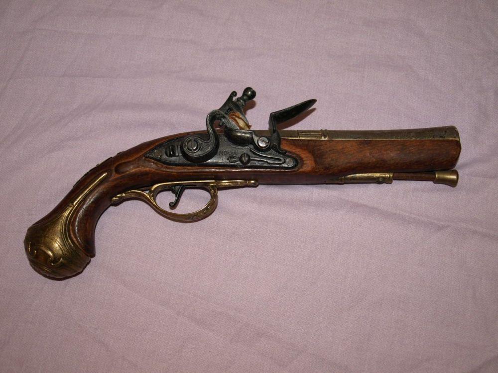 Decorative Replica Flintlock Pistol.
