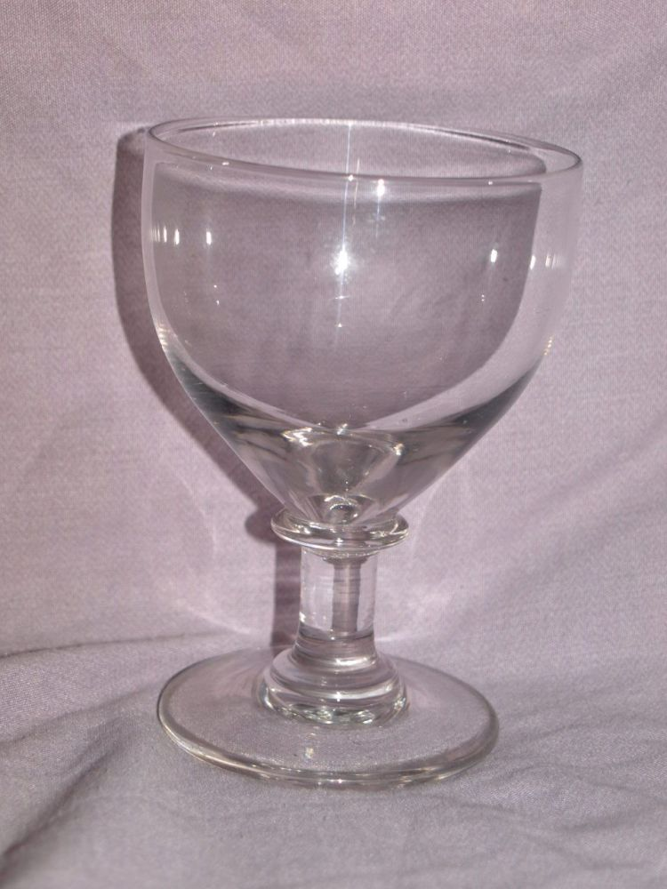 Late Victorian Toddy Rummer Wine Glass.