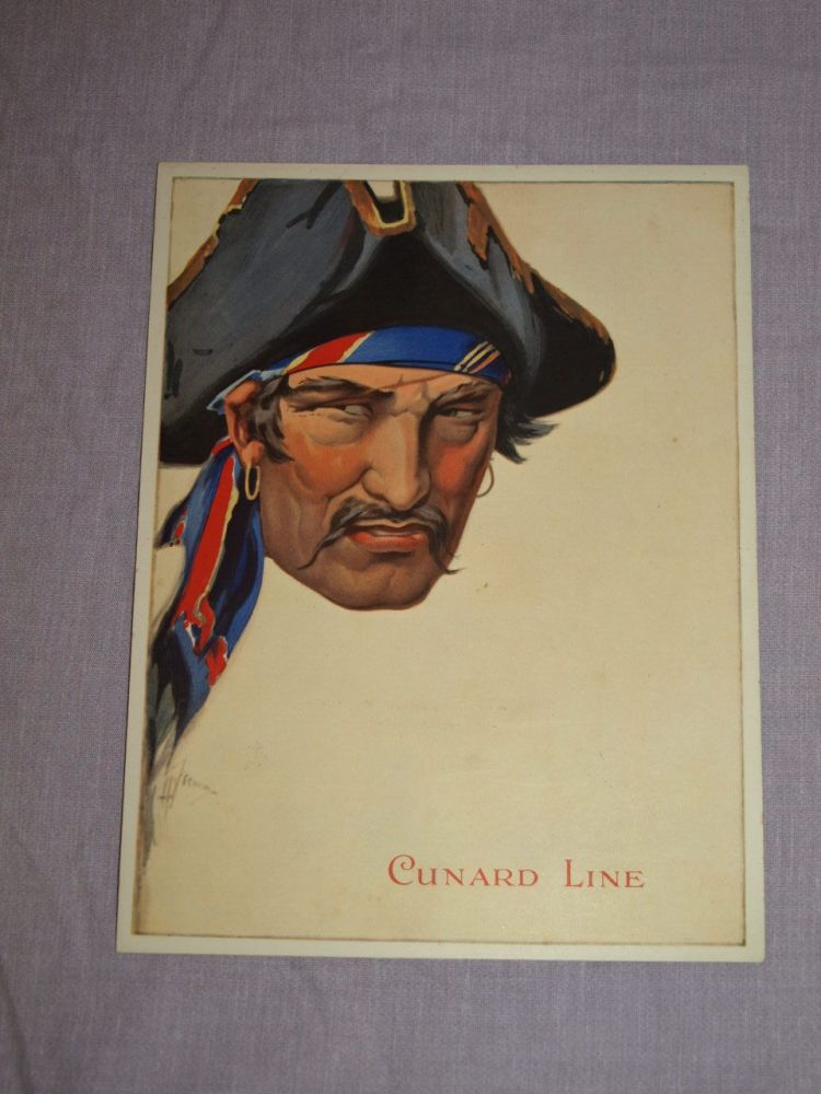 Cunard Line Laconia Dinner Menu Cuban Night 18th February 1933.