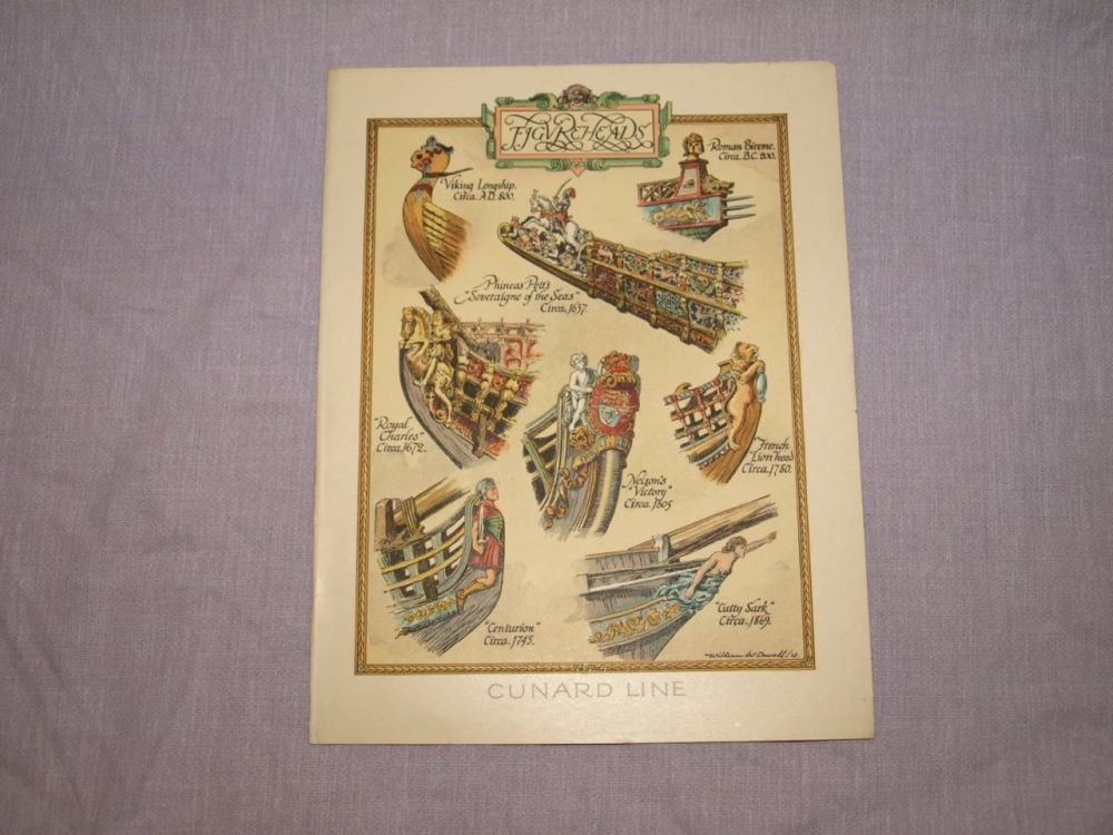 Cunard Line Laconia Dinner Menu 4th February 1933.