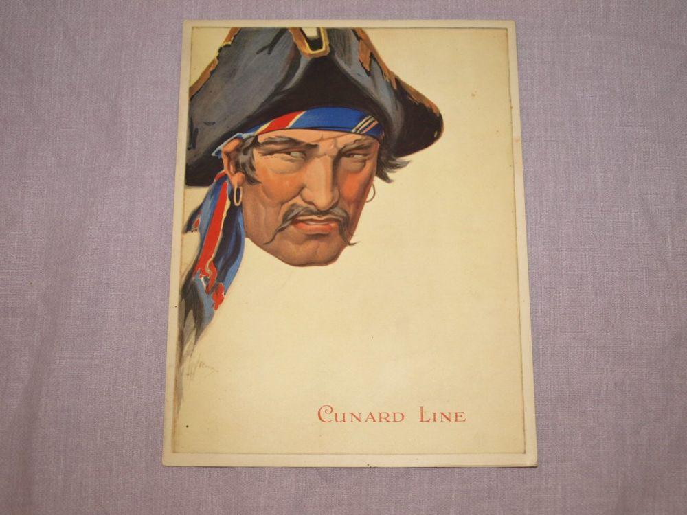 Cunard Line Laconia Dinner Menu 5th March 1933.