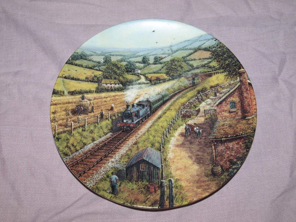 Day Trippers By Peter Webster, Country Railways Collectors Plate.