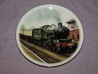 Steam Locomotive Railway China collectors Plate.