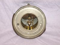 Vintage Holosteric Barometer with Curved Thermometer.